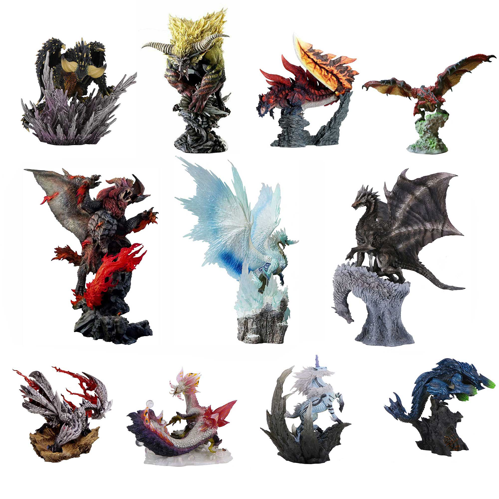 Monster Hunter Figure Teostra Brachydios Monster Hunter Kushala Daora Valphalk Dinovaldo Monster Hunter World Figure Without Box
