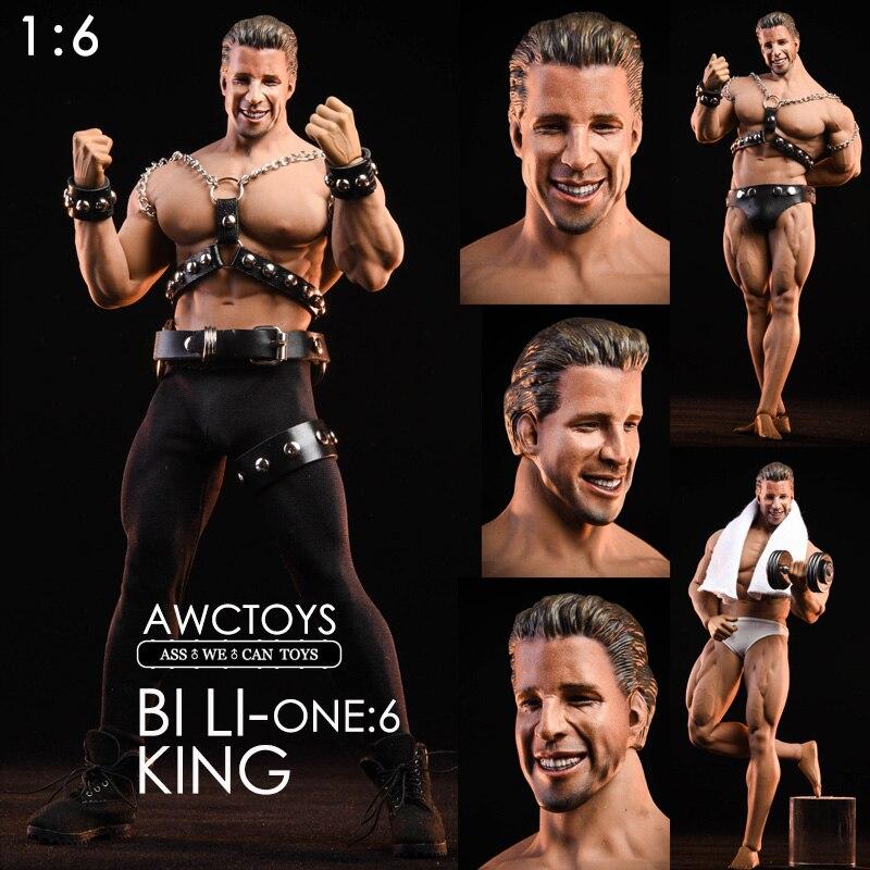 1//6 ZY-Jouet B007 mâle Action Man figure corps étroit épaule collection poupée