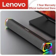 Lenovo L101 Desktop Speaker Stereo Music Surround Subwoofer Speaker For Macbook Laptop Notebook PC Player Wired Loudspeaker