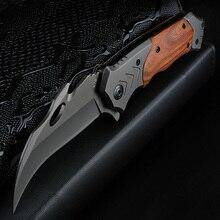 Xuanfeng屋外ナイフフォールディングナイフキャンプ高硬度ナイフ戦術的なポータブルナイフ野生サバイバル爪ナイフ