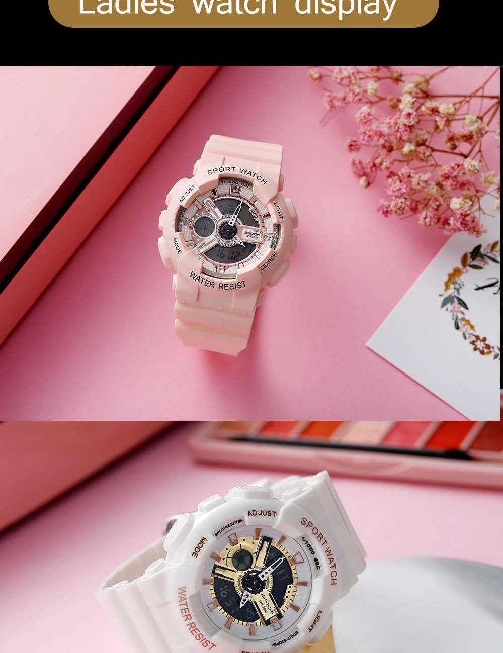 H382ee721f54b40aeb33fe623d67b0890l 2020 SANDA Military Men's Watch Brand Luxury Waterproof Sport Wristwatch Fashion Quartz Clock Couple Watch relogio masculino