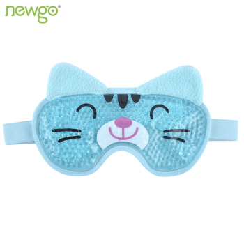 Cooling Eye Mask for Puffy Eyes Soft Cold Eye Mask with Gel Bead Animal Shape Eye Mask Gel Face Mask for Migraines and Headaches