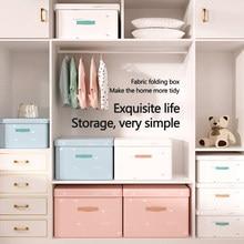 Cute Clothing Storage Box Organizer Folding Clothes Underwear Panties Socks Container Clothes Organizer Space Saver Organizer