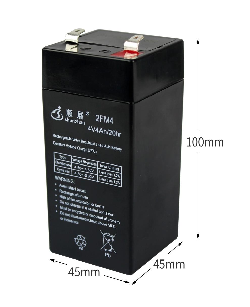 escala eletronica universal 4 v bateria 4 v4ah 20hr