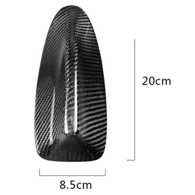 Simplicity Carbon Fiber Car Styling Shark Fin Antenna Cover High Grade Durable Pure Color for BMW 5 Series F10 F11 F18