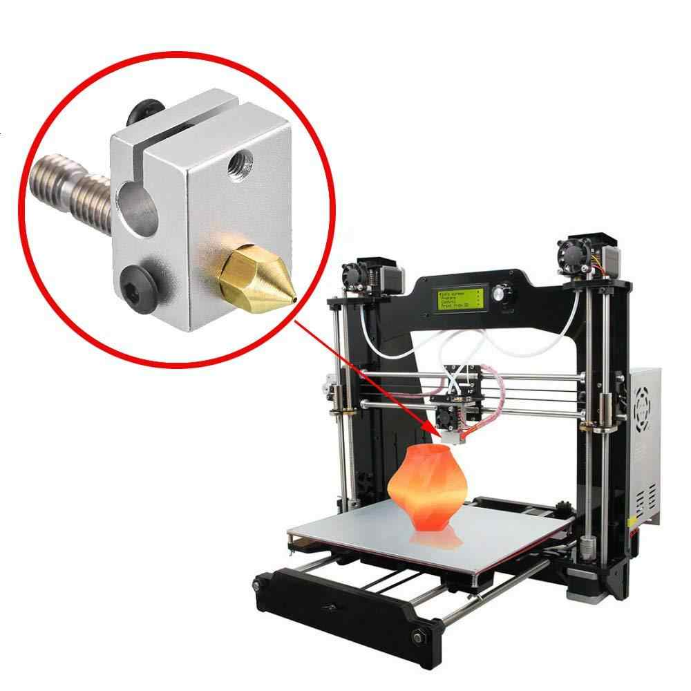 24 個 3D プリンタノズル MK8 押出機ノズル 0.2 ミリメートル 0.3 ミリメートル 0.4 ミリメートル 0.5 ミリメートル 0.6 ミリメートル 0.8 ミリメートル 1.0 ミリメートル makerbot creality CR10 エンダー 3 5