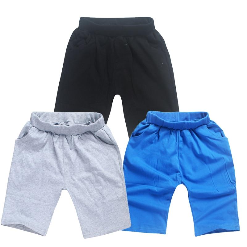 Children Boys Cotton Shorts