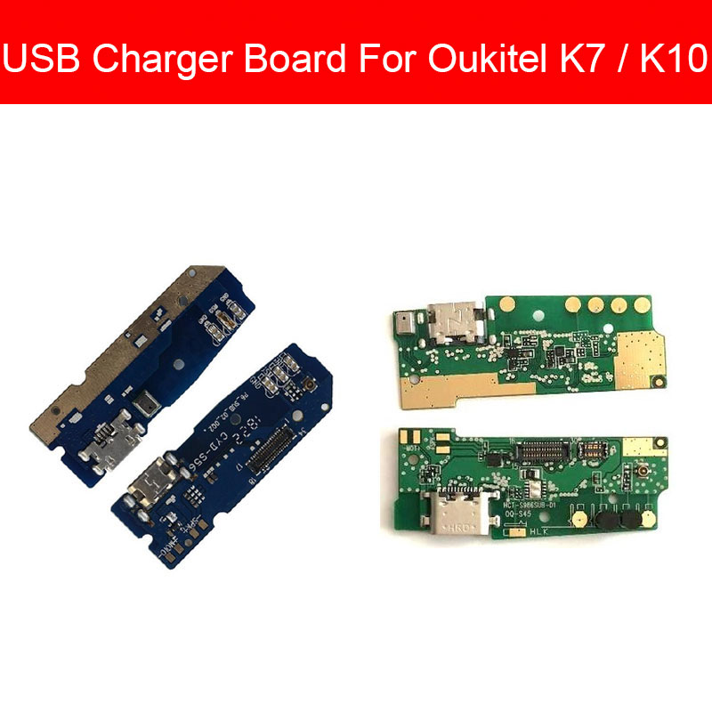 Usb Charging & Microphone Jack Port Board For Oukitel K7 K10 Usb Charger Connector Module USB Charger Board Repair Parts