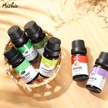 MISHIU 6Pcs/set Pure Natural Essential Oils Massage Aromatherapy Fragrance Set G