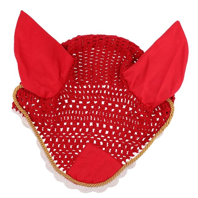 Pets Alpha Equestrian Fly Veil Ear Bonnet  - Durability With Style 6
