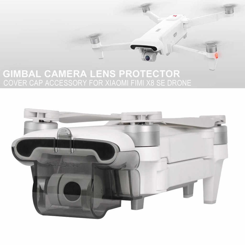 HINST zabawki dla dzieci chroń zintegrowaną pokrywa ochronna blokada kamery osłona obiektywu dla akcesoriów do Xiaomi FIMI X8 SE Drone