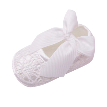 Baby-Girls-First-Walkers-Moccasins-Soft-Shoes-Non-slip-Bowknot-slip-on-solid-Footwear-Crib