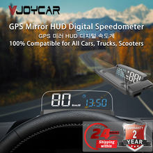 Compteur de vitesse GPS numérique pour voiture, KMH MPH HUD, affichage tête haute pour véhicule, moto, bateau, compteur d'altitude, Vol.