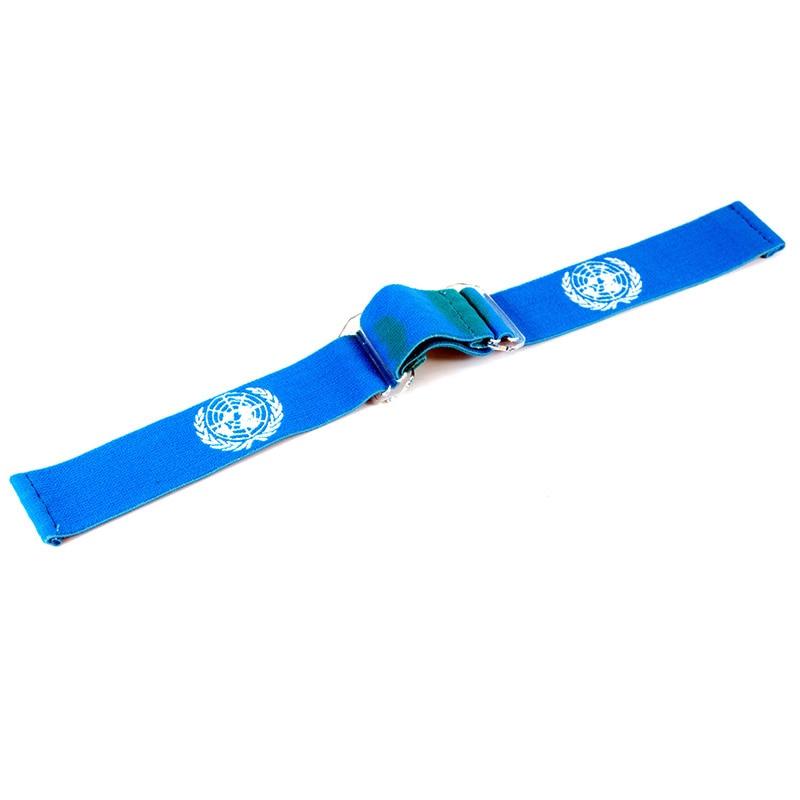 Paintball Google Mask Strap Adjustable Strap UN-Flag Design