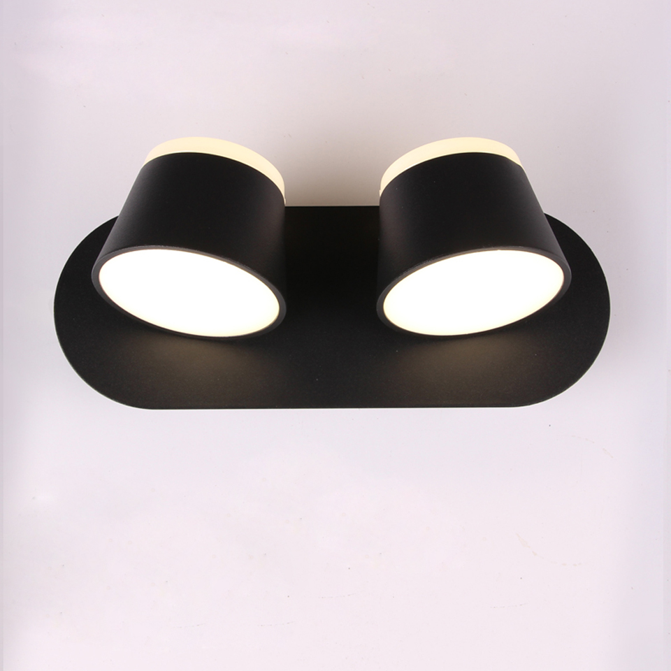 LED Wall Lamp For Bedroom Bedside Bathroom Wall Sconce White Wall Mounted Luminaire Modern Hotel Lighting