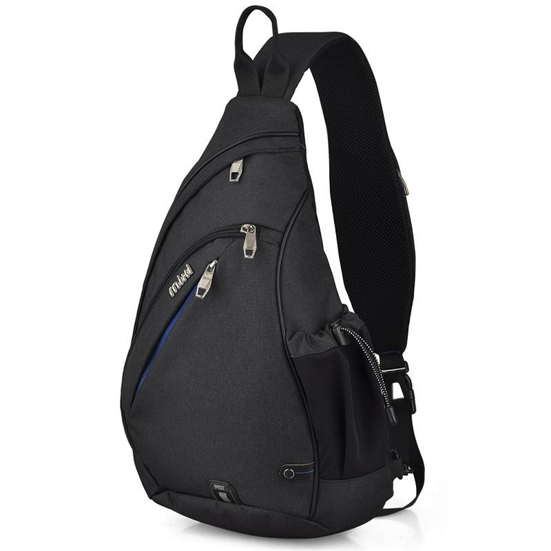 Mixi Men Sling Backpack One Shoulder Bag Boys Student School Bag University Work Travel Versatile 2019 Fashion New Design M5225Backpacks   -