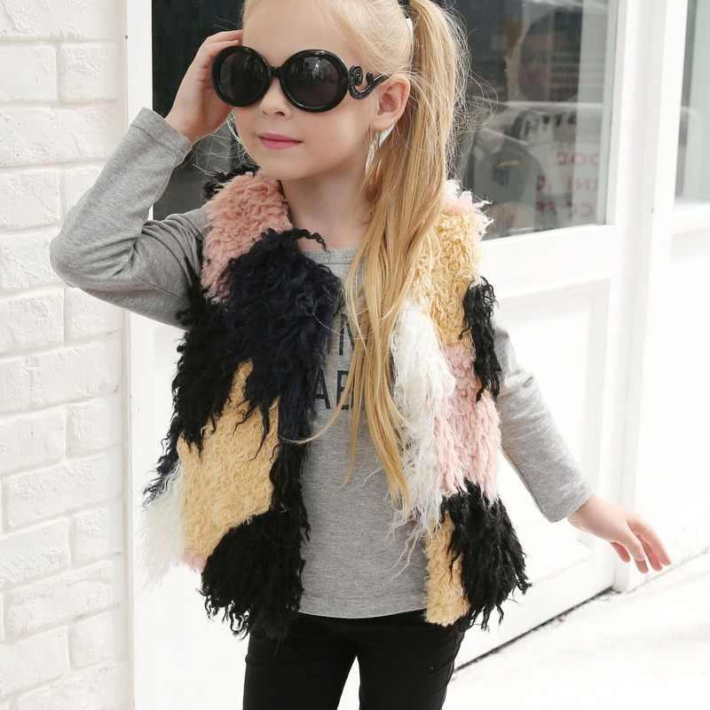 Новое Стильное плотное пальто для маленьких детей верхняя одежда девочек зимняя