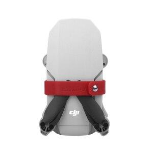 Image 3 - Soporte de hélice para Mini hélices de DJI Mavic, Clip de silicona, protección de fijación, accesorios para Drones