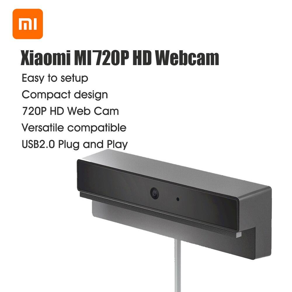Xiaomi MI 720P Webcam USB 2.0 Installation gratuite du pilote caméra Web de bureau ordinateur portable Webcam Plug and Play Webcam
