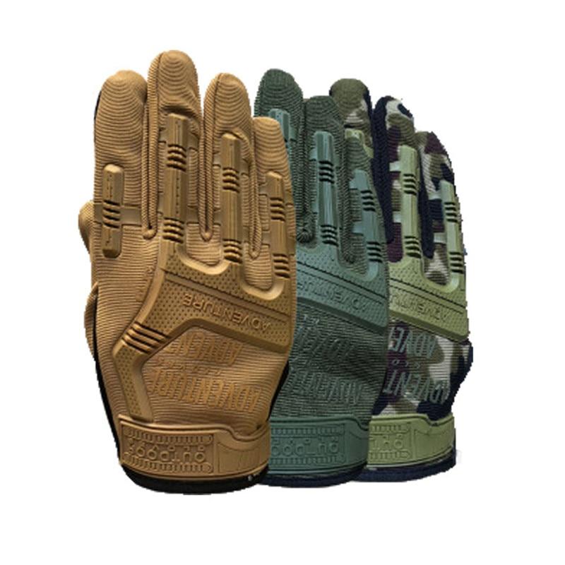 Guantes tácticos militares para hombre, guantes de combate de dedo completo, antideslizantes, para caza, tatica luva, ejército, Airsoft, Paintball, guantes handschoenen|Guantes de hombres| - AliExpress