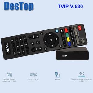 Image 2 - 5pcs המקורי TVIP 530 S905W 1G 8G לינוקס טלוויזיה תיבת I P T V הזרמת תיבת I P T V טלוויזיה תיבת תמיכה protal TVIP v530