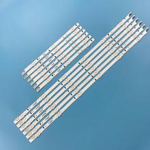 (Nowy zestaw) 12 sztuk taśma LED do UN485500AF UE48H6200AK telewizor z dostępem do kanałów SAMSUNG_2014SVS48F_3228_R03 L06 BN96 38892A 38891A LM41 00099E 00099D