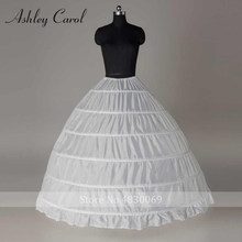 Hoops Crinoline A Line Wedding Petticoat Size L(China)