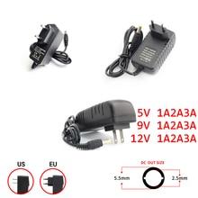 цена на DC Power Supply 12V 5V 9V 1A 2A 3A Universal Switching DC 5V Power Supply Charger Transformer Adapter LED Driver  EU US Plug