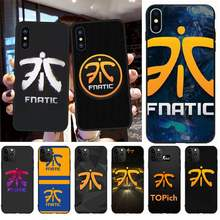 Nbdruicai LOL Fnatic FNC Anti-Dirty Lucu Lembut Silikon Hitam untuk iPhone 11 Pro XS MAX 8 7 6 6S Plus X 5S SE XR Case(China)