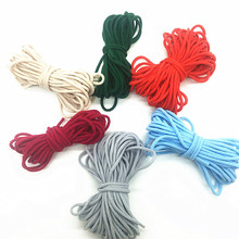 Mask Elastic Cord Rubber-Band Sewing Round Garment-Accessories String Hanging-Rope Diy-Crafts