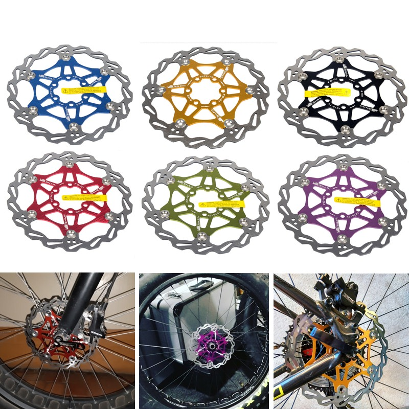 160mm MTB Mountain Bike Hydraulic Bicycle Brake Disc Floating Rotor 6 Bolt Rotor