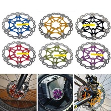 Cycling Bicycle Rotors 6 inch 160mm 180mm 203mm FOR SNAIL Mountain Bike MTB  Float Floating Disc Brake Rotor цены онлайн