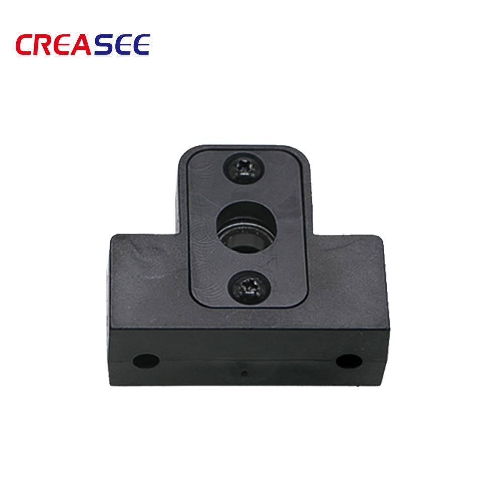 CREACEE 1pcs 3D printer parts screw holder Ender-3 screw Z bearing bracket T8 screw bearing housing 3D printer accessories