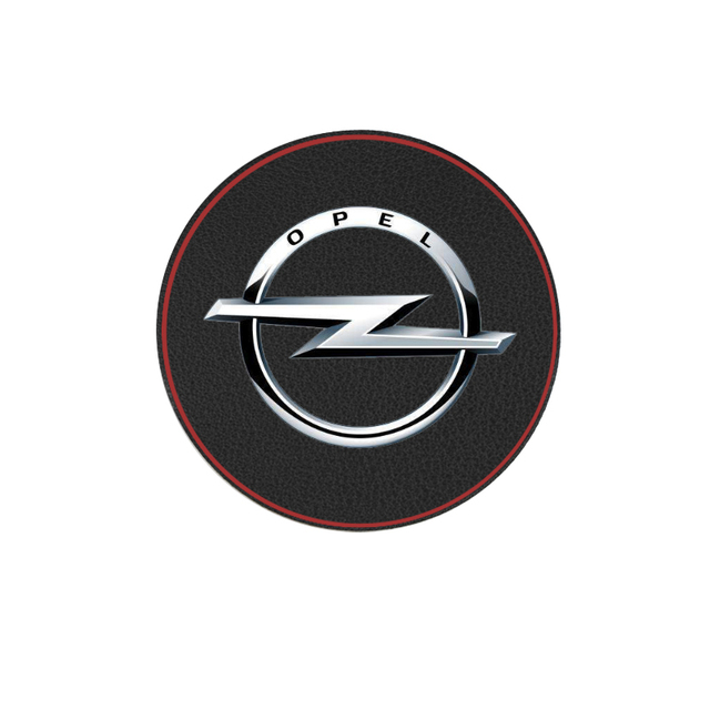 1pcs car interior mats water coaster leather pad for Opel Astra H G J Insignia Mokka Zafira Corsa Vectra C D car anti-dirty pad