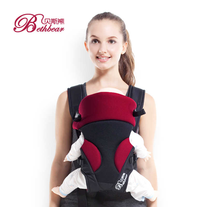 0-24 M portador de bebé transpirable 3 en 1 bolsa de mochila para bebé abrigo del Bebé Canguro canguro