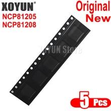 5 piezas 100% nuevo NCP81205 NCP81208 QFN