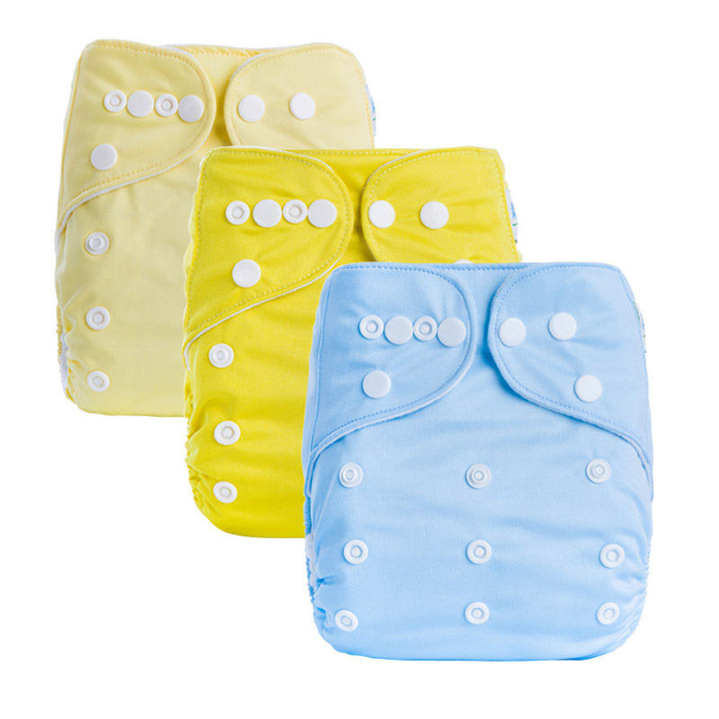 Cloth Nappies Reusable Prefold Cloth Diapers For Eco Friend Baby Cloth Pocket Waterproof Diapers A Series