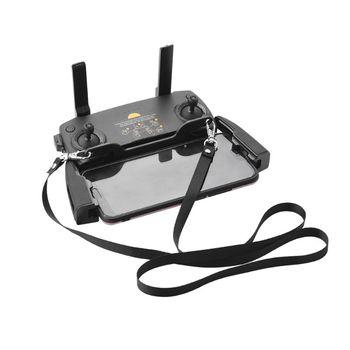 Czarny pilot podwójne zawieszenie klamry do DJI Mavic mini Mavic 2 Mavic PRO Air Spark drone tanie i dobre opinie OPEN-SMART NONE CN (pochodzenie) Pilot zdalnego sterowania Rope Strap 12 5x2cm(hang buckle) 54cm(half-fold lanyard)