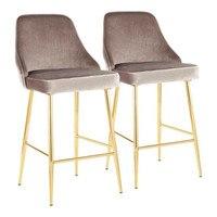 Cadeira de aço inoxidável da barra simples moderno da recepção cadeira alta americana