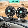 12V/24V 360 Grad Alle Runde Einstellbare Auto Luftkühlung Dual Kopf Clip Fan Geräuscharm auto Auto Kühler Air Fan Auto Fan Zubehör-in Heizung & Ventilatoren aus Kraftfahrzeuge und Motorräder bei