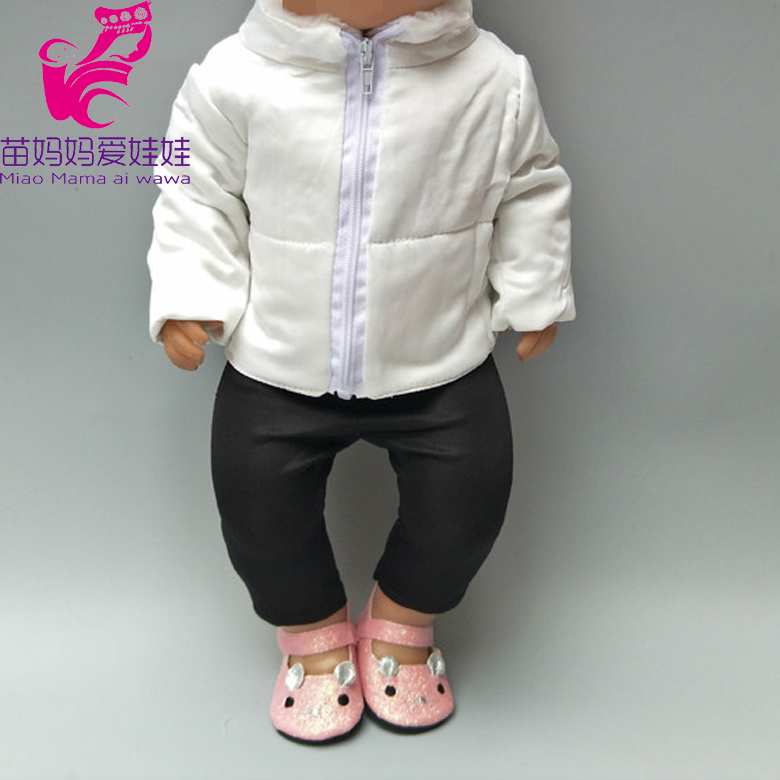For 43cm  Doll Down Coat Clothes For 18