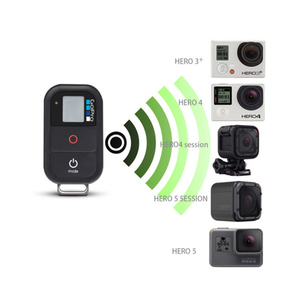 Image 4 - Remote gopro  Waterproof Wireless WiFi Remote For Gopro Hero 7 6 5 4  Gopro 5 6 3+ Smart Remote Control Charging Cable Kits