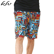 Men Women Couple Trunks Colorful Geometric Abstract Print Summer Beach Shorts Surfing Running Sports Drawstring Boardshorts недорого