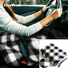 Электрическое флисовое автомобильное одеяло 12 В зимнее теплое