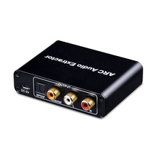 HDMI ARC Audio Adapter HDMI Audio Extractor ARC zu Optische TOSLINK SPDIF Koaxial + Analog 3 5mm L R Stereo Audio Converter (mos cheap Veggieg NONE CN (Herkunft) TYPE-C Nein DP Mini DP Stecker-stecker