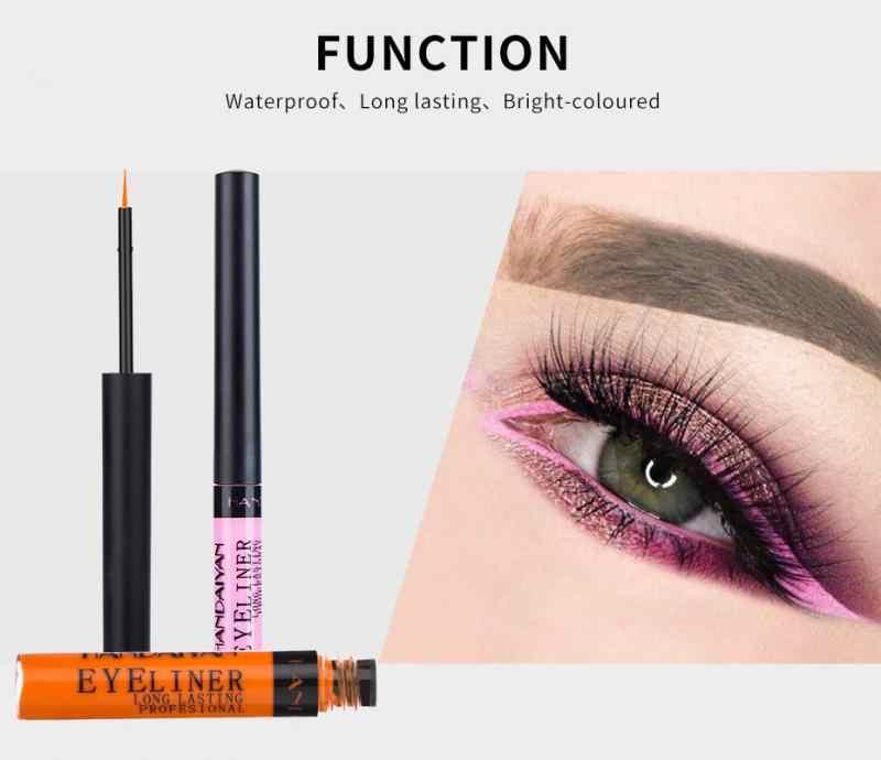 HANDAIYANยี่ห้อแต่งหน้าBlack Eye Liner Liquid Pencil Quickแห้งกันน้ำสีดำติดทนนานเซ็กซี่Charming Eye LinerปากกาTSLM1
