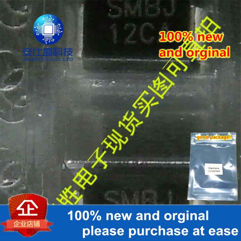 50pcs 100% New And Orginal SMBJ12CA DO214AA Silk-screen SMBJ12CA In Stock