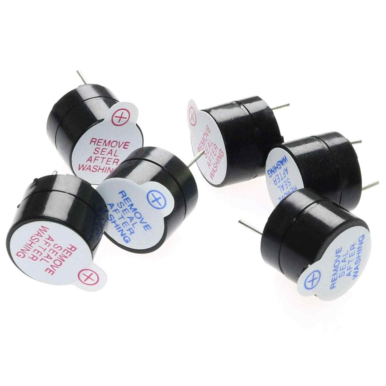 3 В/5 В/12 в активный зуммер комплект Магнитный длинный непрерывный звуковой сигнал