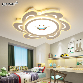 New Arrival led ceiling lights lamp with Remote control and sun designer for child bedroom study room babyroom lamparas de techo