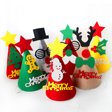 Creative DIY Handmade Christmas Hat Pointed Material Package 1PCS 20